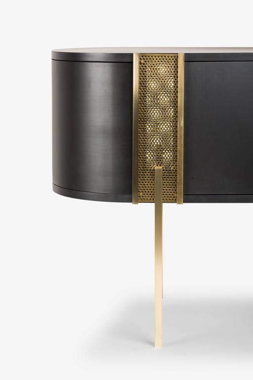 Believe Metal Sideboard By Lorenza Bozzoli For Mingardo