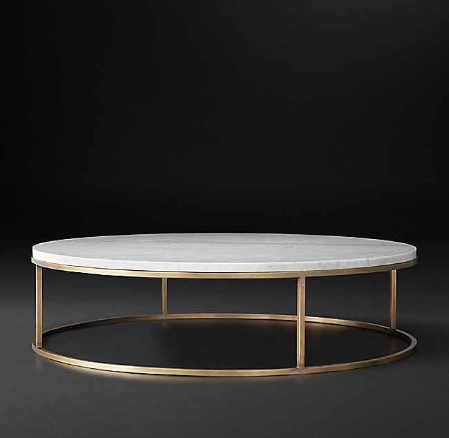 Nicholas Marble Round Coffee Table